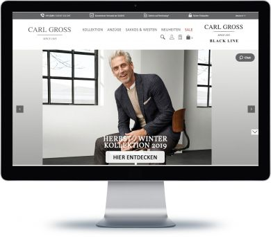 Carl Gross Onlineshop
