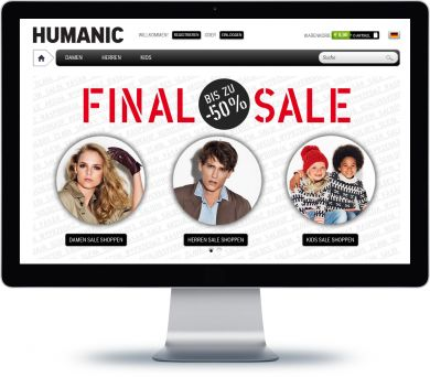 HUMANIC Onlineshop