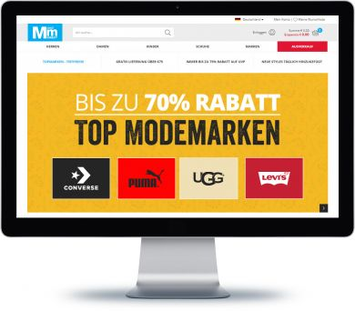 MandM Direct Onlineshop