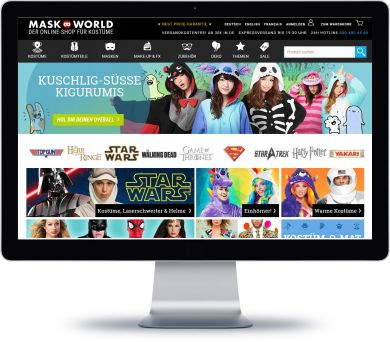 Maskworld Onlineshop