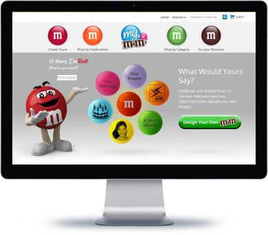 My M&Ms Onlineshop