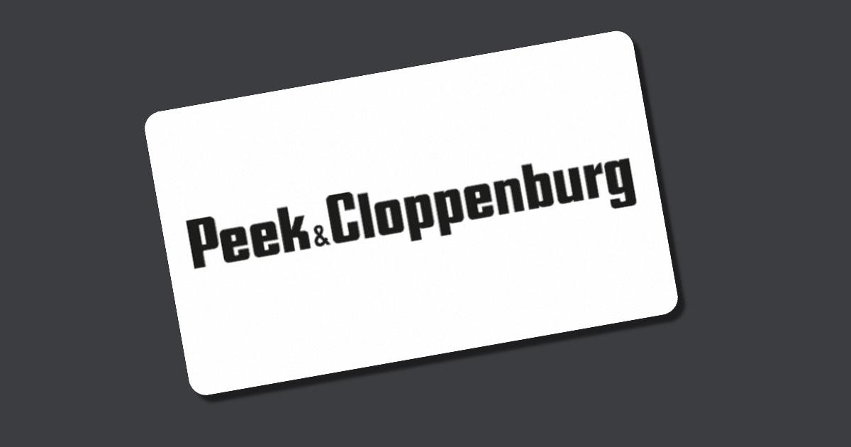 Gutscheincode Peek & Cloppenburg
