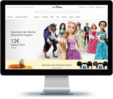 ShopDisney Onlineshop