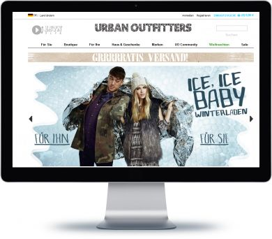 Urban Outfitters Onlineshop